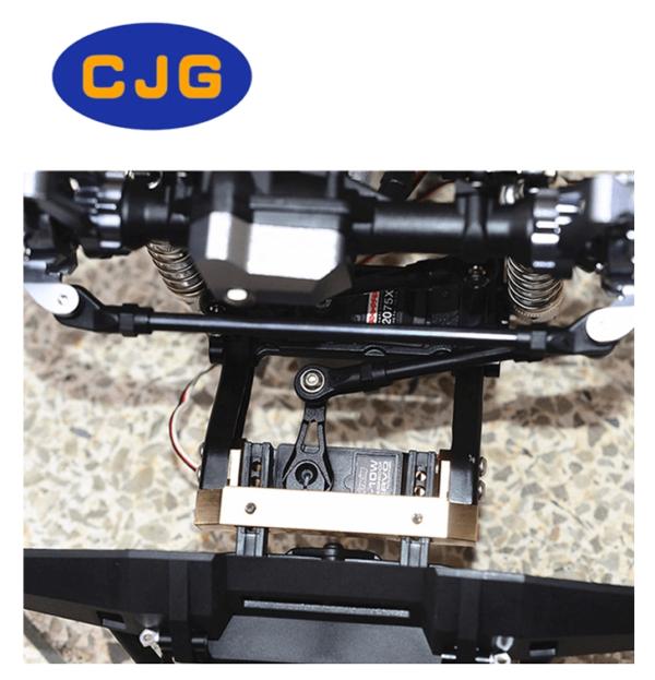 Repuesto CJG Soporte frontal de Servo 1/10 para RC Crawler