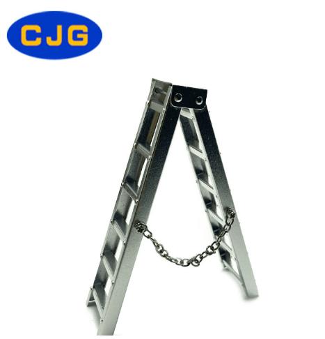 Decoración CJG Escalera de Aluminio (10/15mm) para RC Crawler