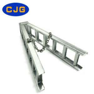 Decoración CJG Escalera de Aluminio (10/15mm) para RC Crawler