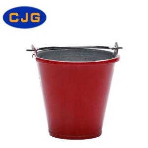 Decoración CJG Cubo de Metal Rojo 1/10 para RC Crawler