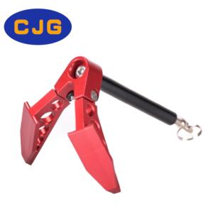 Decoración CJG Cabrestante Ancla Plegable 1/10 para RC Crawler