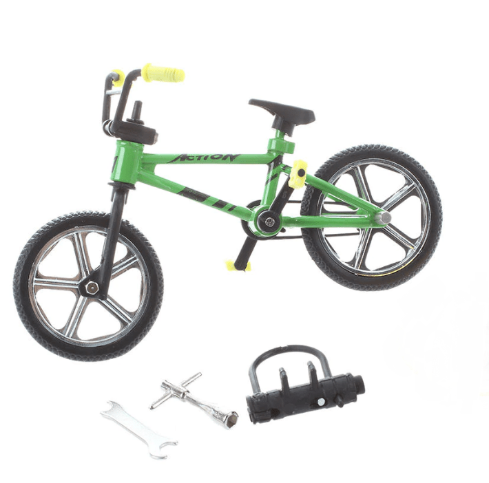 Decoración CJG Set Mini Bicicleta 1/10 para RC Crawler