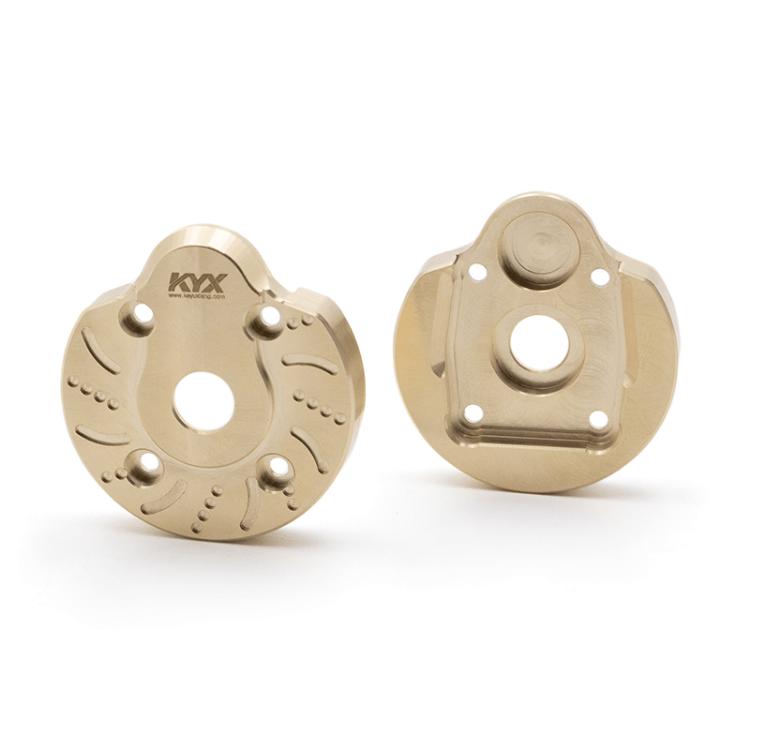 Repuesto KYX Peso portal del nudillo de dirección para Axial Capra (2 unidades)