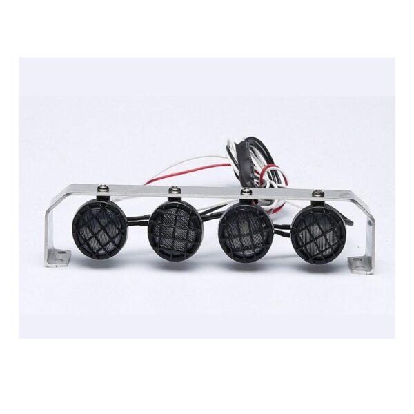 comprar mas barato Luz de techo con marco metálico para RC Crawler (4 focos)