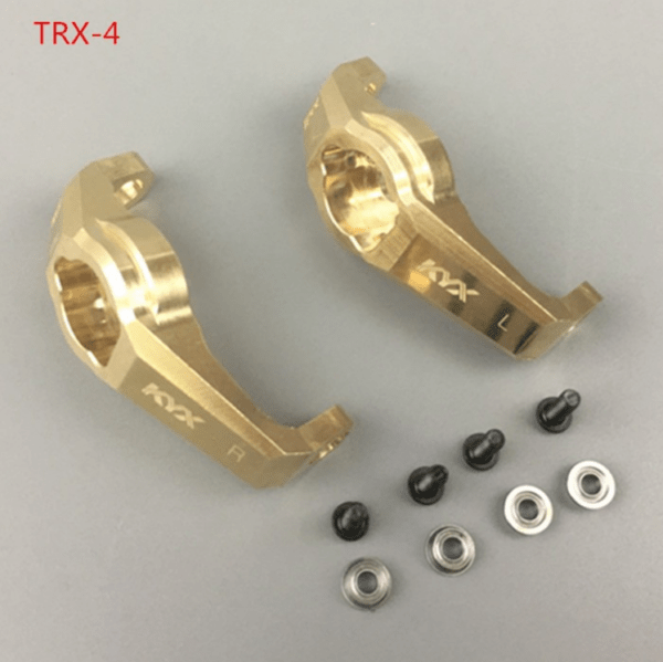 Repuesto KYX Rodamiento de aluminio delantero para Traxxas TRX-4 (2 unidades)