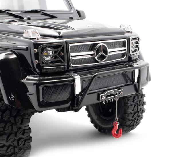 Repuesto KYX 1/10 RC Crawler parachoques delantero para Traxxas TRX-6 Mercedes
