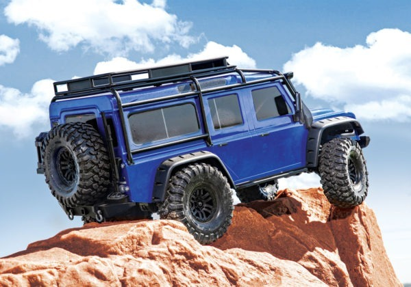 trx4 defender azul land rover barato