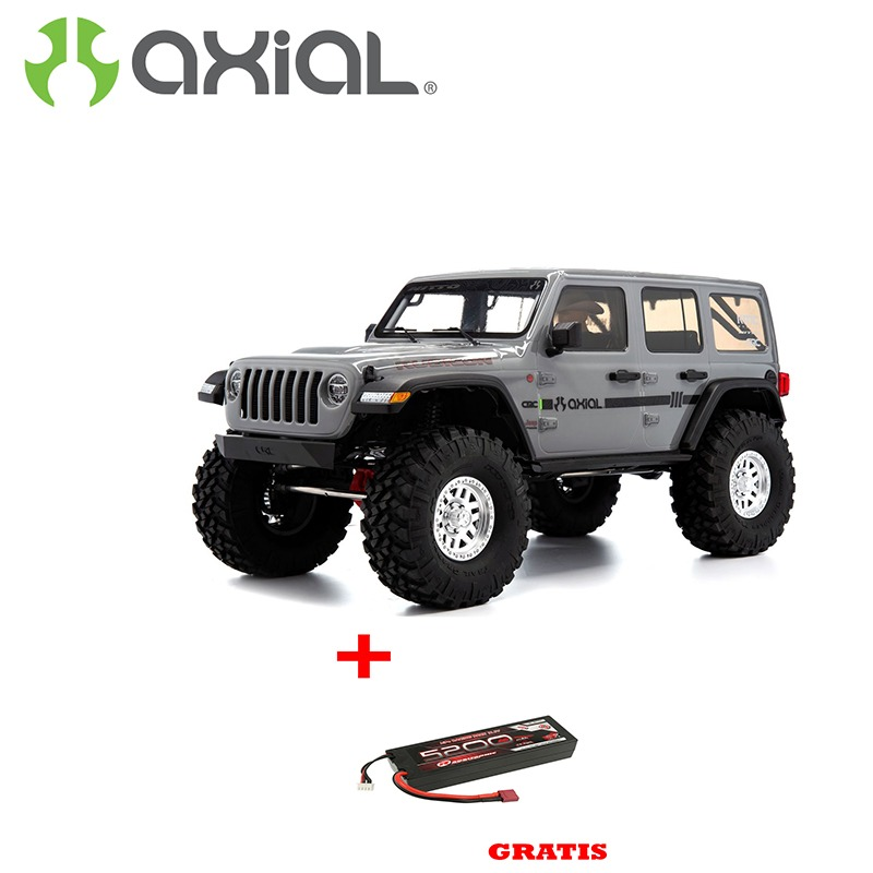 AXIAL SCX10 III Jeep Wrangler 1/10 4WD RTR Gris