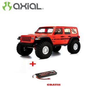 AXIAL SCX10 III Jeep Wrangler 1/10 4WD RTR Naranja