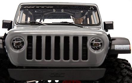 Detalle delantero jeep rc crawler