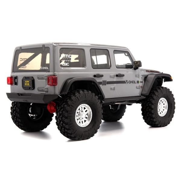 Detalle trasero jeep rc crawler gris