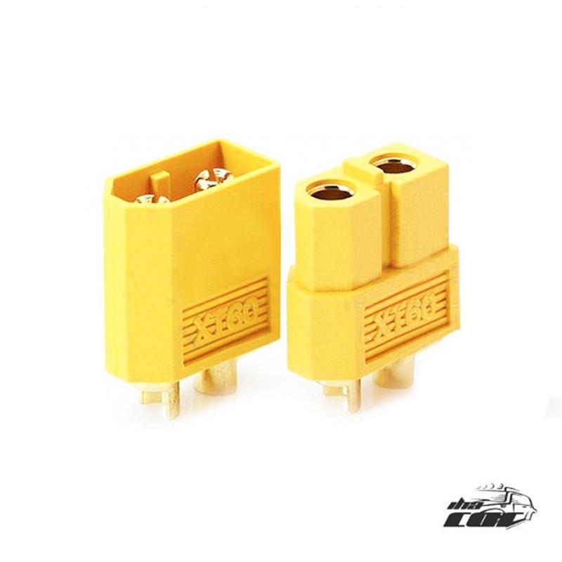 Conector Amass XT60 (pareja)