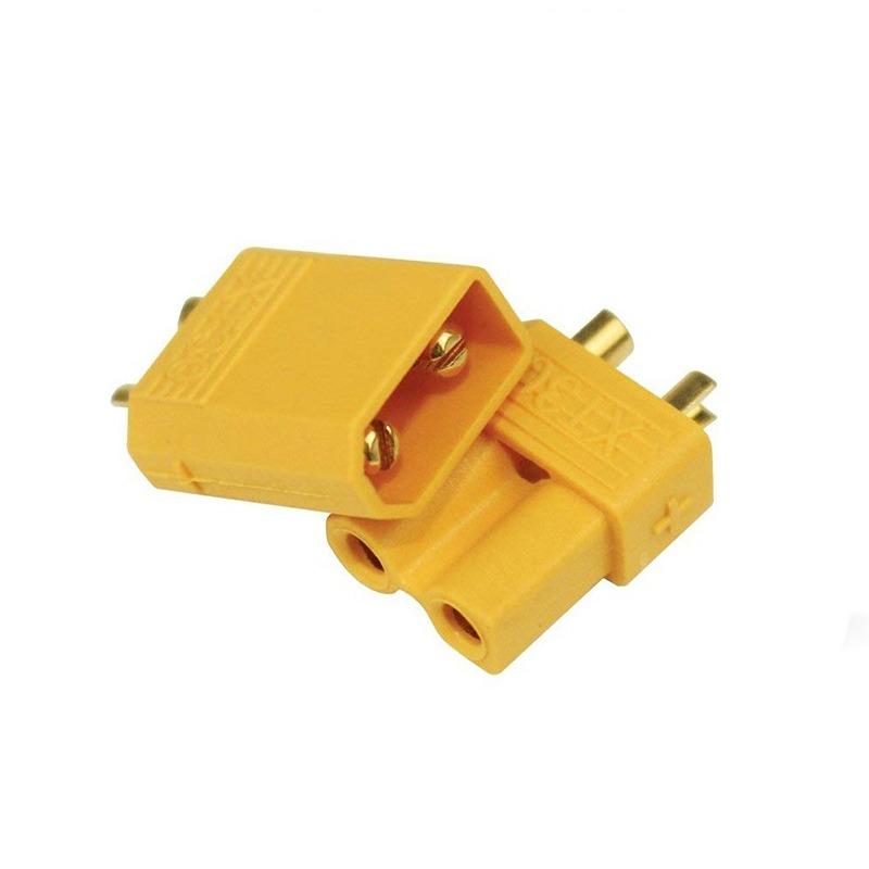 Conector XT30 Amarillo (5 parejas)