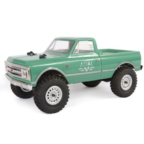 comprar mas barato 1-24 SCX24 1967 Chevrolet C10 4WD Truck Brushed RTR, Green
