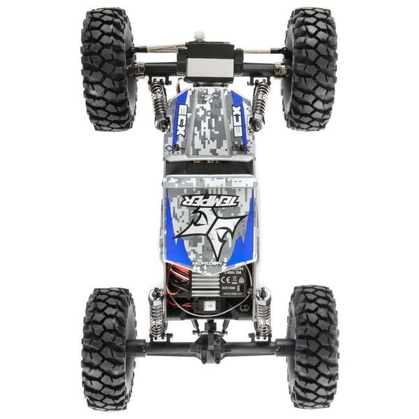 Temper GEN 2.0 1 18 Rock Crawler 4WD RTR AZUL DETALLES mejor precio
