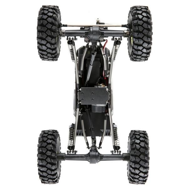 Temper GEN 2.0 1 18 Rock Crawler 4WD RTR AZUL DETALLES mejor oferta