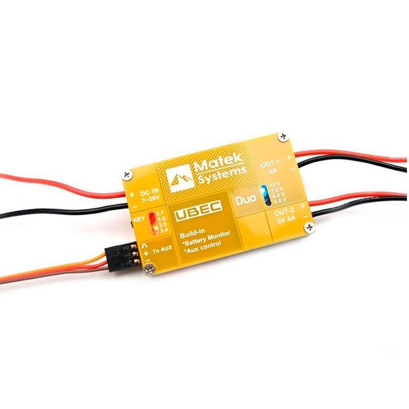 Matek UBEC DUO 4A – 12 voltios