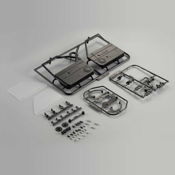 Puertas-killerbody-con-ventanas-laterales-de-subida-y-bajada-para-Toyota-LC70-RC envio rapido desde españa
