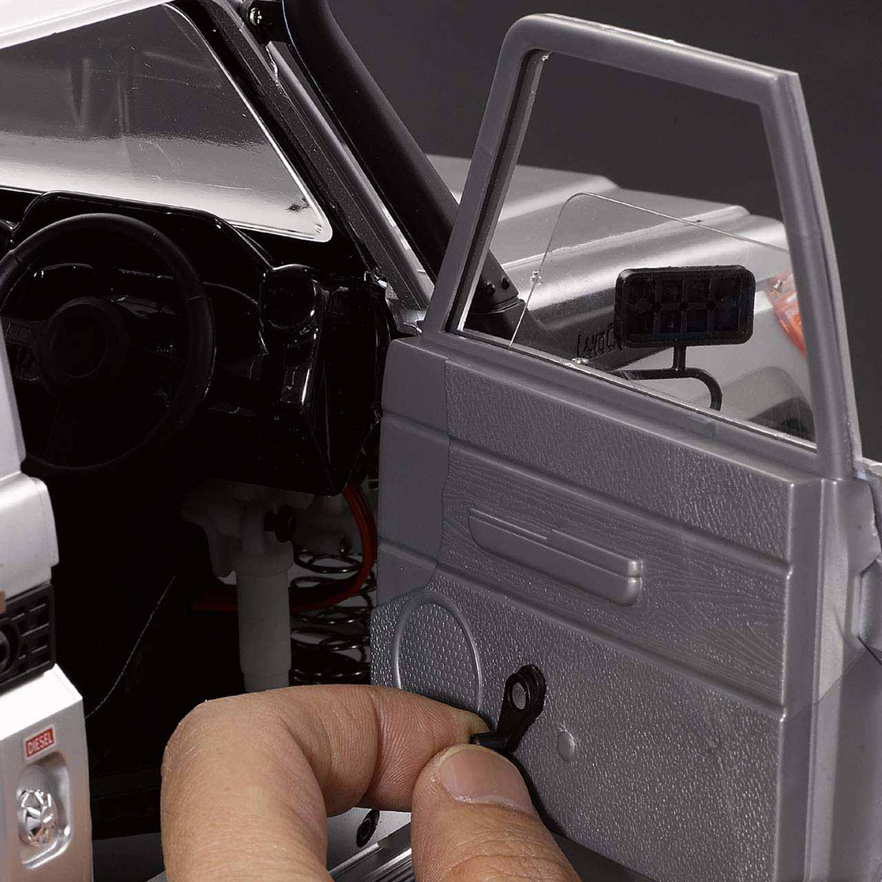 Repuesto Killerbody Puertas con Ventanas para encender para Toyota LC70