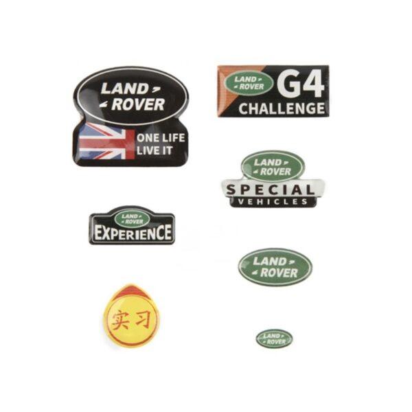 comprar mas barato Set de Pegatinas Logo LAND ROVER personalizar RC Crawler