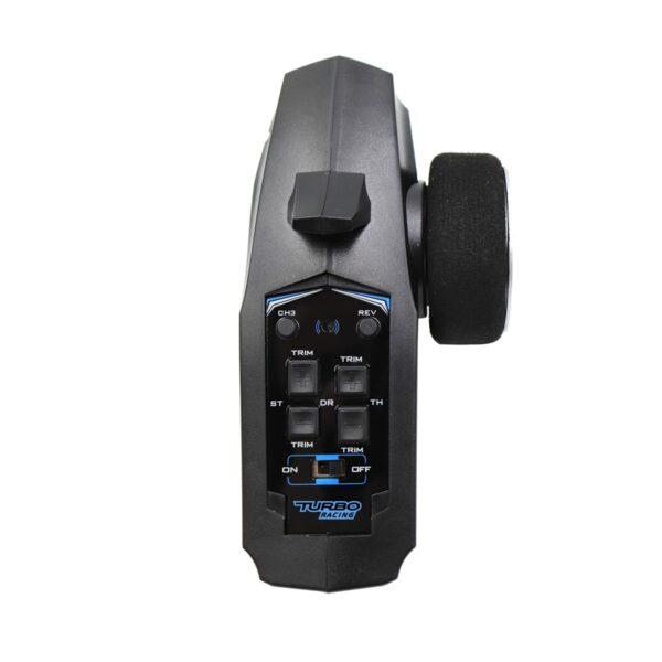 Transmisor Turbo Racing Control Remoto 3 ch 2.4GHz con receptor para RC mejor precio