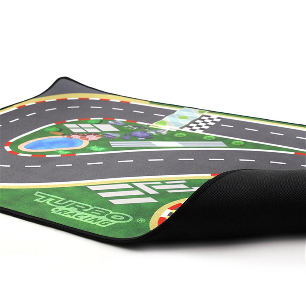 Pista de Carreras para Mini Coche RC Turbo Racing a escala 1:76