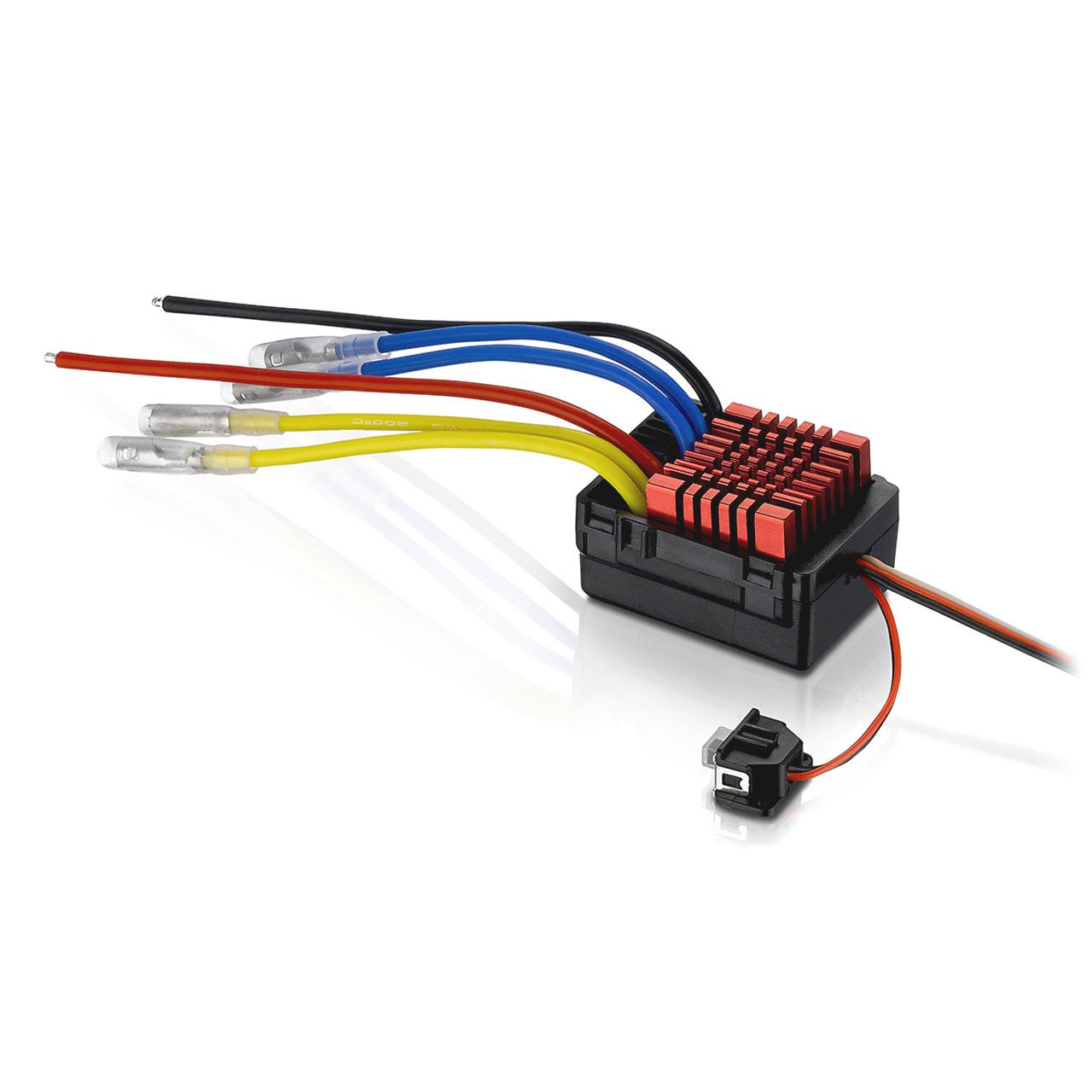 ESC Hobbywing QuicRun 880 cepillado 80A para 1:8 y 1:10