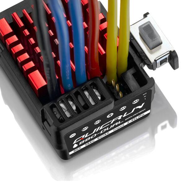 comprar mejor precio Hobbywing QuicRun 0880 Controlador doble cepillo 80A para 1-10 1-8