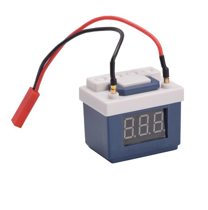 Indicador de Batería Baja con Alarma