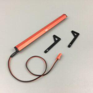 comprar mejor precio Barra de led de techo para axial scx10 II rojo