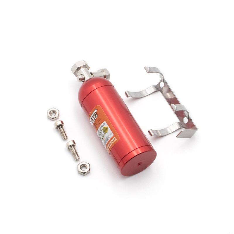 Decoración KYX Botella de Nitrógeno 1/10 metálica