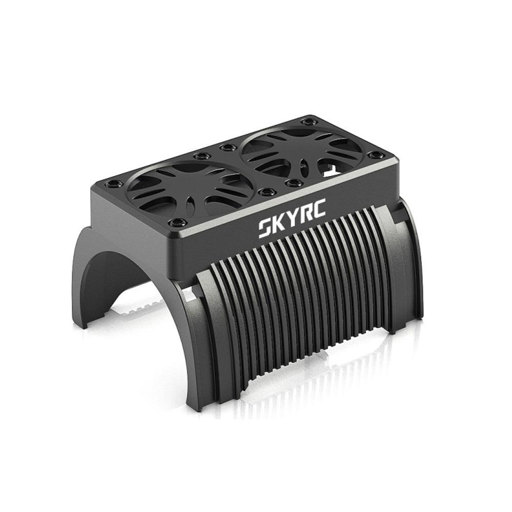 Disipador de calor de motor SkyRC con ventilador de 55 mm para motores eléctricos 1/5