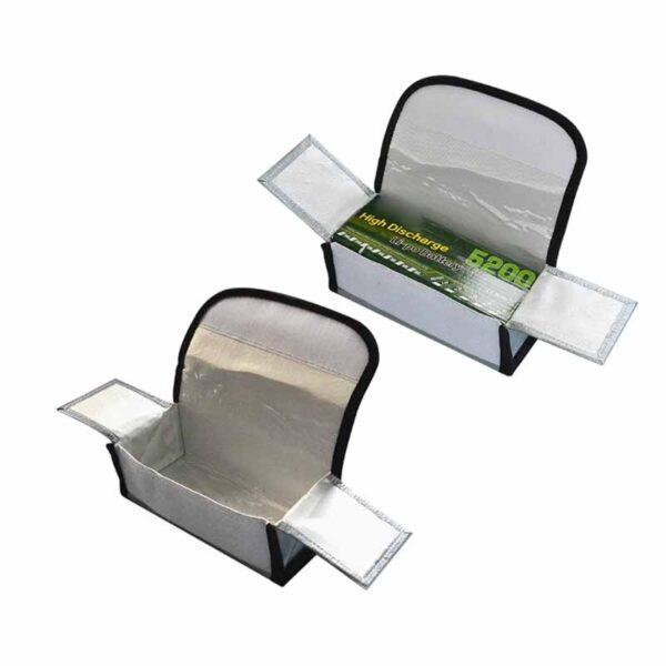 comprar online mejor oferta envio desde españa Bolsa de seguridad portatil de batería 185x75x60mm