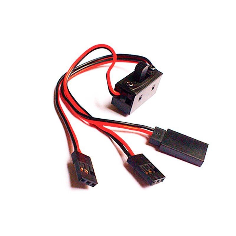 Interruptor Futaba receptor de tres cables